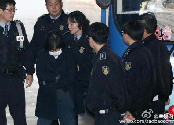 韩检方逮捕朴槿惠亲信 被指挪用K体育财团资金