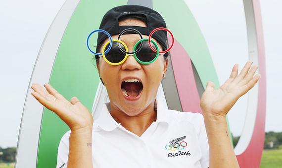 奥运高尔夫球手清清白白