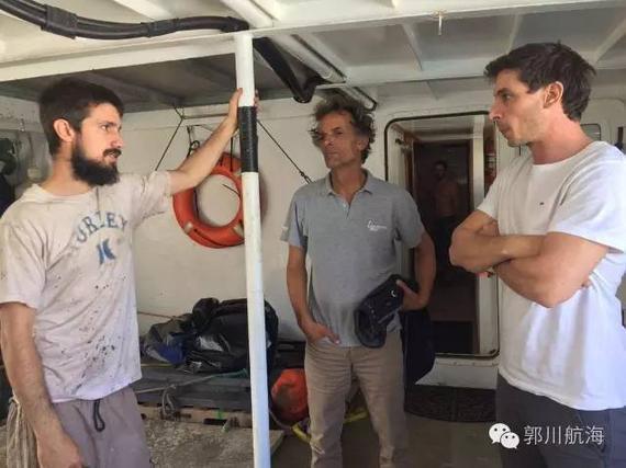 郭川团队已选定搜救渔船 将送4法国船员上三体船