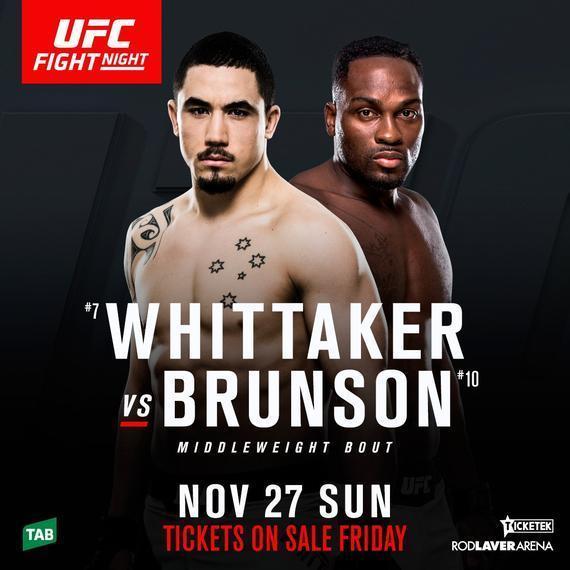 UFC Fight Night 101新头条敲定为维泰克尔VS伯恩森