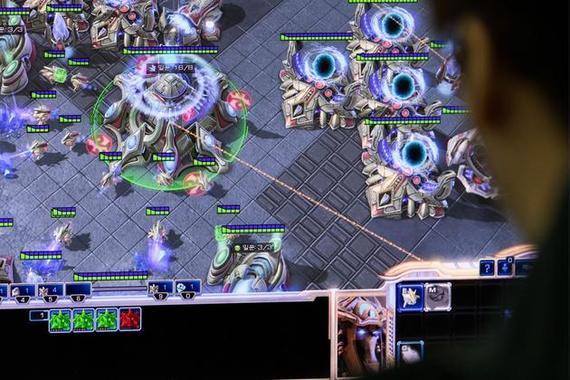 星际争霸2游戏画面