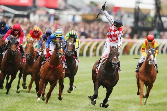 骑师百士德策骑壮观岛夺得阿联酋锦标赛冠军