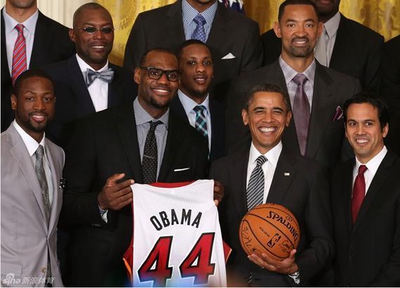 詹皇等待第三次黑宫之止 奥巴马是其巨大典范
