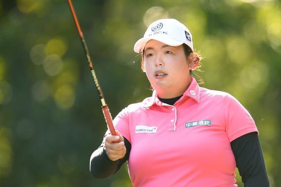 冯珊珊日本精英赛取得LPGA第六冠