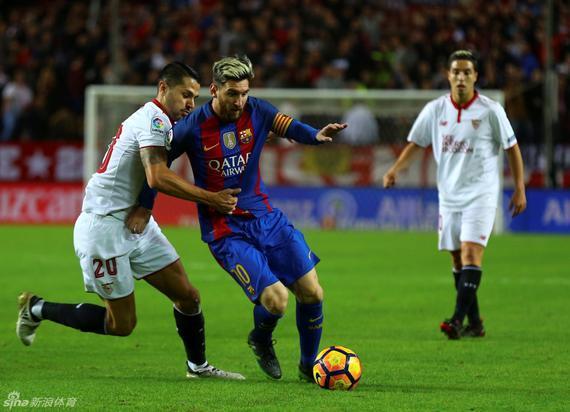 梅西的出色表现获得了对手的称赞