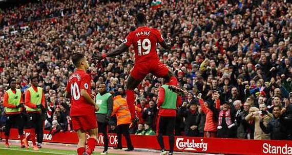 利物浦6-1大胜领跑