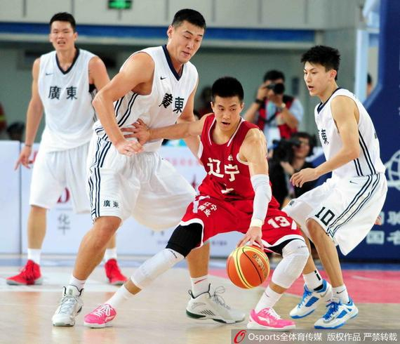 广东与辽宁分获上一届全运会男篮冠亚军