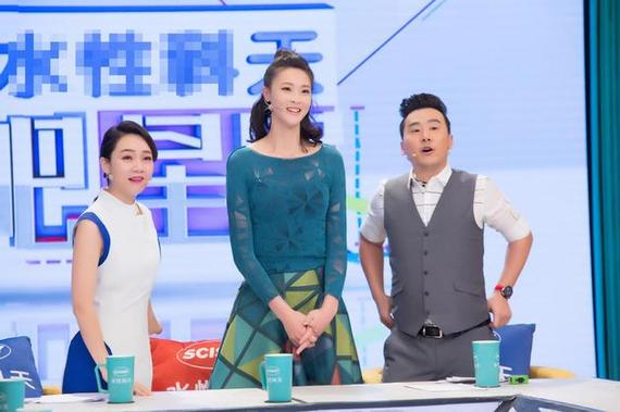惠若琪在节目中
