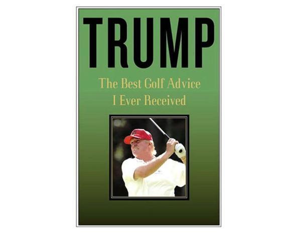真行家!特朗普曾著高尔夫教学书 专业堪比红宝书