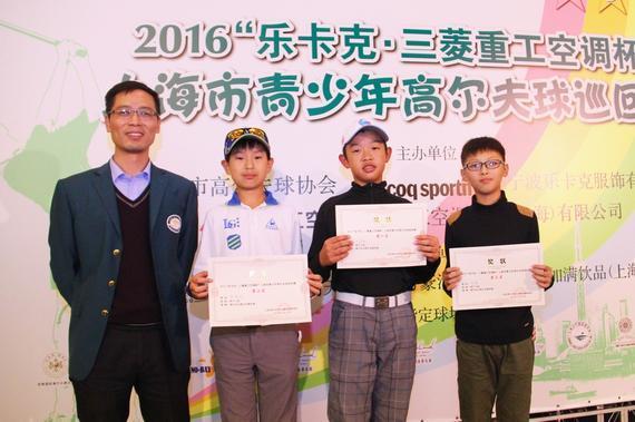 男子C组获奖选手