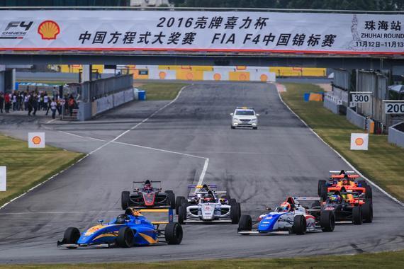 F4珠海站第15回合:艾宸骏夺冠 布鲁诺年度冠军