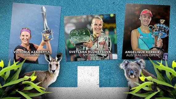 WTA2016赛季回顾第一部分