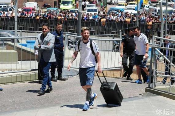 阿根廷抵达圣胡安