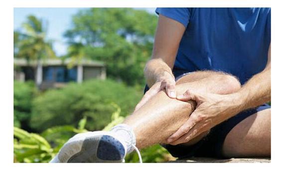 很多跑友运动后小腿疼痛