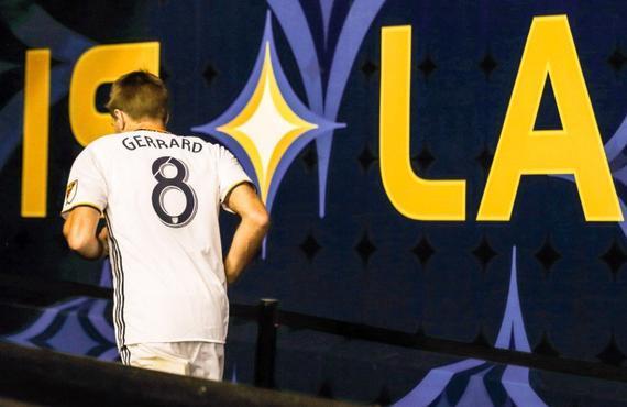杰拉德告别洛杉矶银河