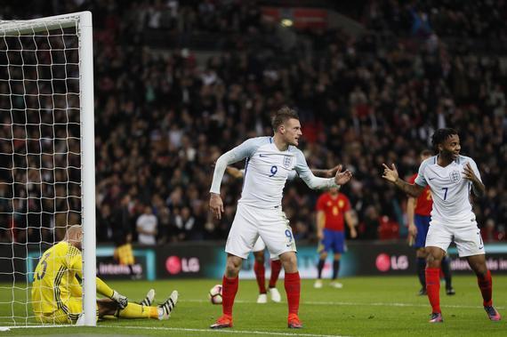 英格兰2-2平西班牙