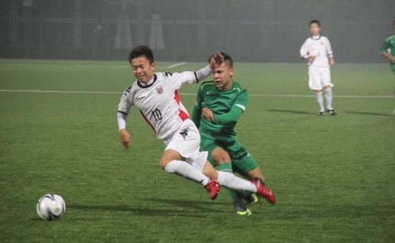 中国U15惨败日本