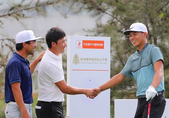 超级CP!细数中国美巡赛并肩作战的同组好友们