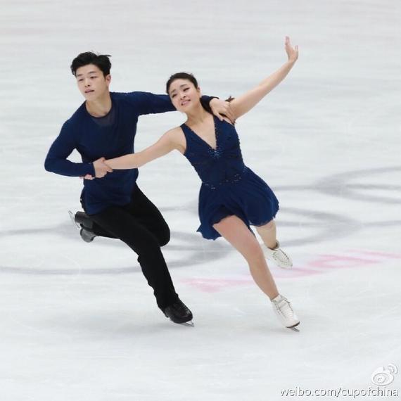 涩谷兄妹今天的自由舞表现堪称完美