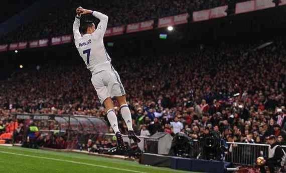 2016年11月20日马竞vs皇家马德里全场录像 C罗破球荒