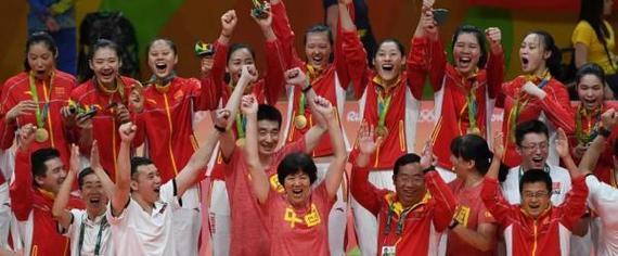 郎平和中国女排