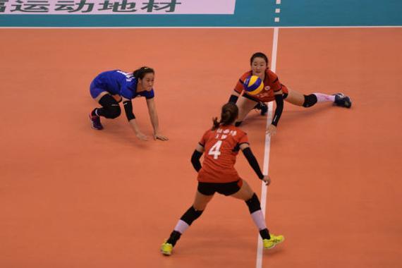 浙江女排客场3-0豪取六连胜