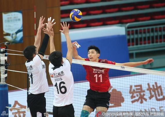 北京队主场3-1胜浙江