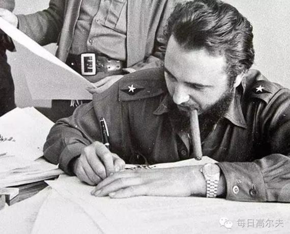 古巴革命领袖卡斯特罗