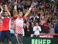 戴杯决赛西里奇双打胜波特罗组合 主队2-1阿根廷