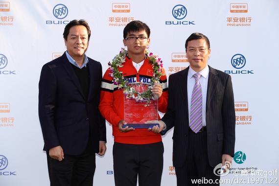 窦泽成荣膺2016中国美巡赛奖金王