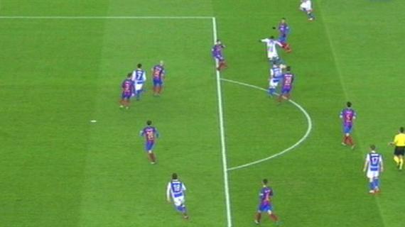 巴萨对手好球被裁判误吹!能拿一分已经是奇迹