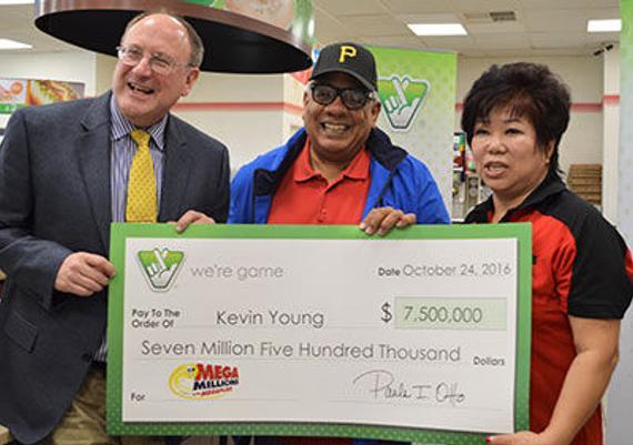 退休工程师现身领取750万美元大奖