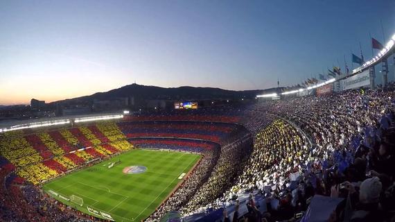 欧洲球场上座人数排名