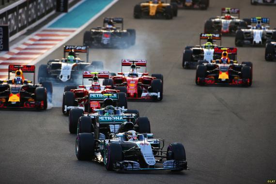 FIA公布了2017F1正式赛历