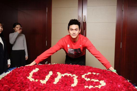 孙杨25岁生日快乐