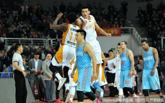 新疆队已在山西客场遭遇了5连败
