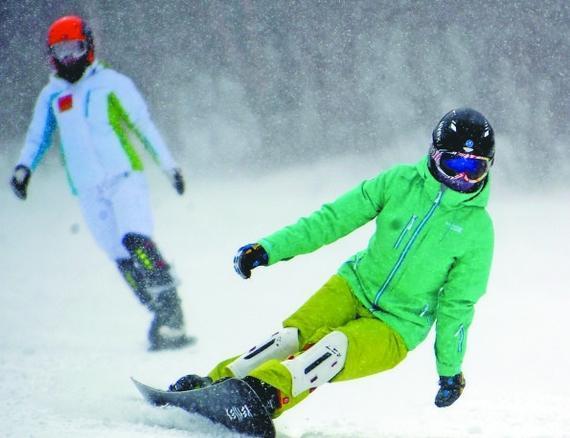 滑雪穿着有讲究