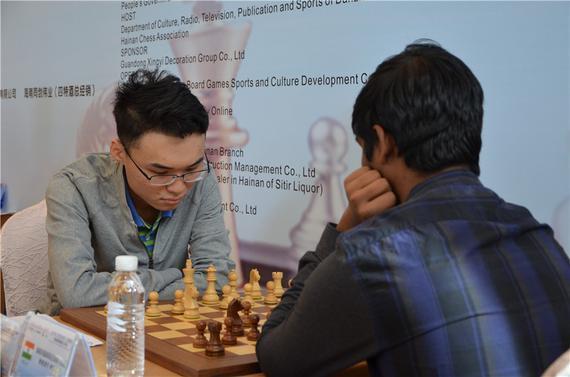 余泱漪胜印度棋手