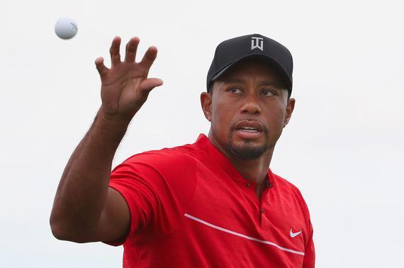 老虎复出之战使用的是普利司通品牌高尔夫球