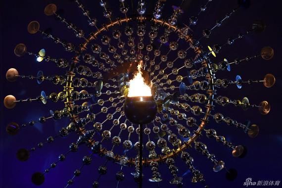 里约奥运会圣火点燃