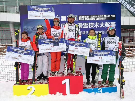 阿勒泰 中国/第二届中国大众滑雪技术大奖赛新疆阿勒泰分站选拔赛落幕