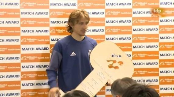 莫德里奇在赛后炮轰了裁判录像纪录