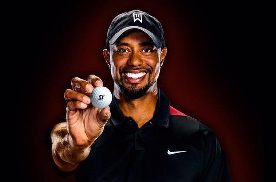 伍兹确定代言普利司通高尔夫球
