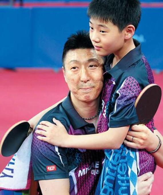 吴尚垠与儿子