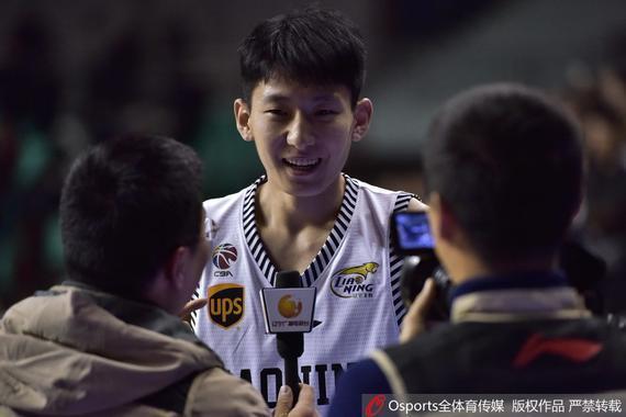 孙锴祺成为了辽宁球迷的新宠