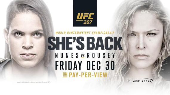 UFC206 努涅斯 VS 罗西