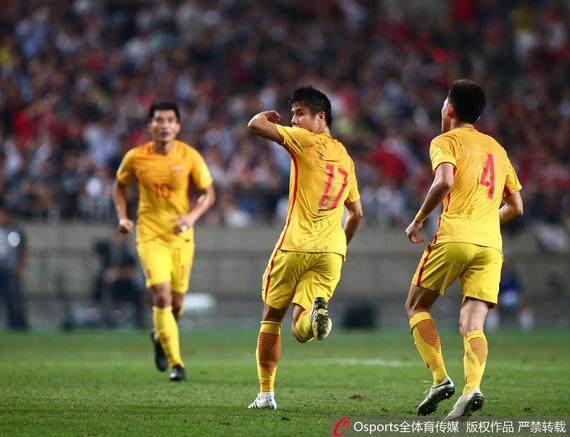 蒿俊闵对韩国进球