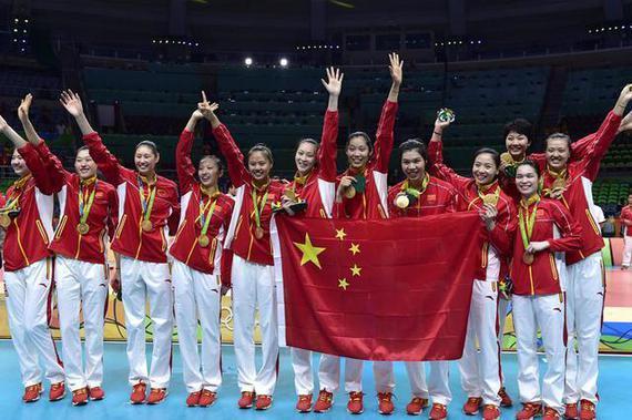 中国女排奥运会夺冠
