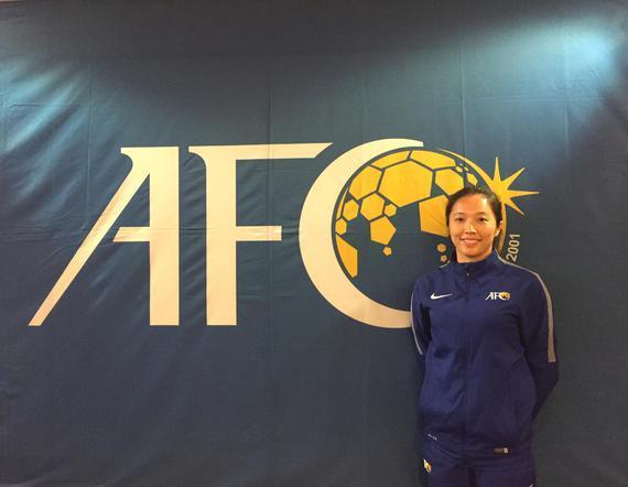 梁庆云成为亚洲首位执法世锦赛决赛的女裁判