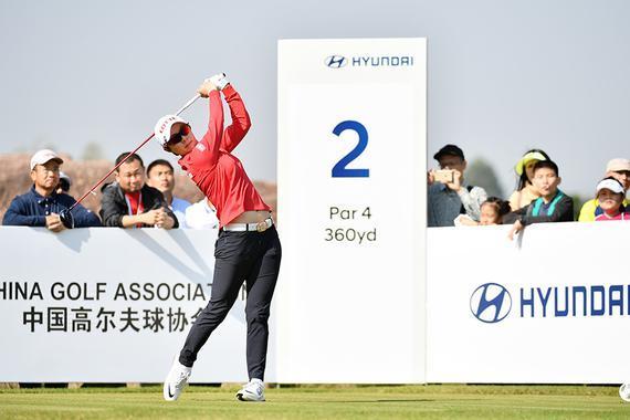 金孝周成为中国女子公开赛史上首位三冠王